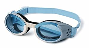 Doggles Dog Goggles ILS Ice Blue Frame / Blue Lens - Extra Small