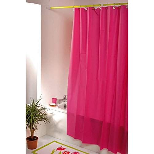 United Linens 10 Gauge HEAVY DUTY Shower Curtain Liner neon Magenta,72x72, PEVA, , Mildew Free, Resistant, Mold Resistant , Eco Friendly , Vinyl , No Chemical Odor liner (Canada Shower Curtain compare prices)