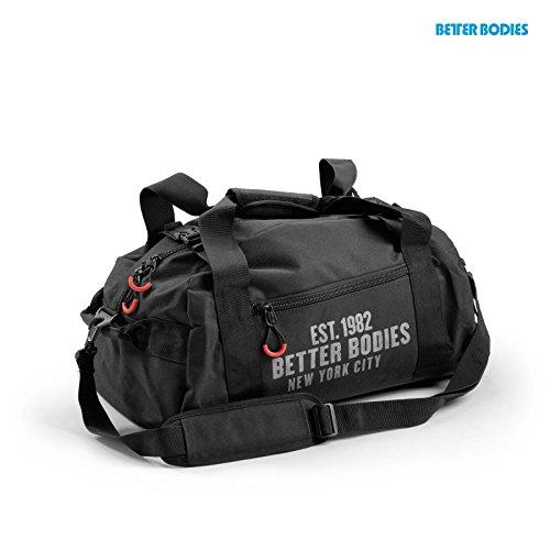 Better Bodies Gym Bag-Borsa sportiva, - black, taglia unica