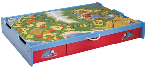 Learning Curve Thomas and Friends Wooden Railway - Under-the-Bed Trundle Playtable at Sears.com