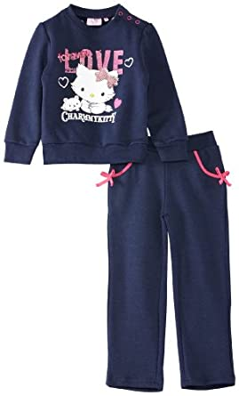 Charmmy Kitty Girl's Clothing Set, Blue, 3 Years