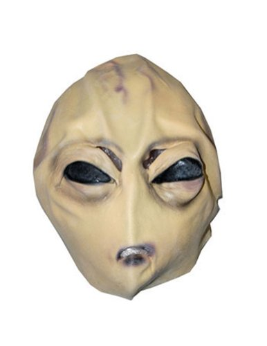 Alien Child Mask Halloween Costume - Most Adults