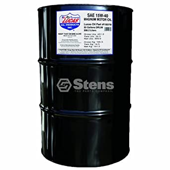 Lucas oil magnum motor oil sae 15w40 55 for 55 gallon motor oil prices