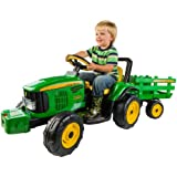 Peg Perego John Deere Farm Power with Trailer