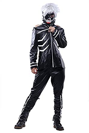 Fancy Kanagi Ken Costume Jacket Outfit Suit for Halloween Cosplay