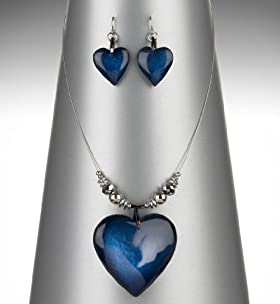 Shimmer Heart Necklace