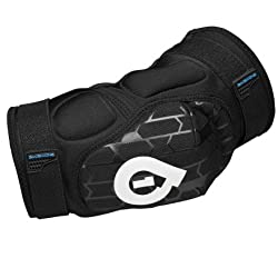 SixSixOne Rage Elbow Black Soft Shell Pad from SixSixOne