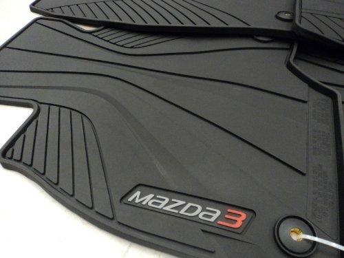 Genuine Mazda (0000-8B-L82) All-Weather Floor Mat (Mazda 3 Rubber Mats compare prices)