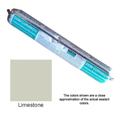 Limestone Dow Corning Contractors Weatherproofing Sealant (CWS) - Sausage