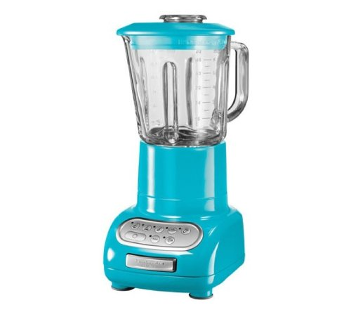 Kitchenaid 5-Speed Blender With Glass Jar Crystal Blue