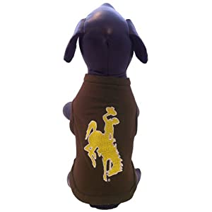 Buy NCAA Wyoming Cowboys Cotton Lycra Dog Tank Top, Small by All Star Dogs