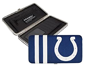 NFL Indianapolis Colts Shell Mesh Wallet by Littlearth