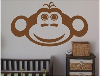 Monkey Themed Bedroom front-500317