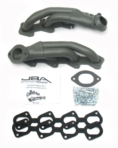 JBA 1625S-7JT 1-5/8 Shorty Stainless Steel Titanium Ceramic Exhaust Header for Cobra 4.6L 99-04 5406049 1 headers