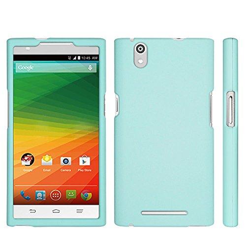 ZTE ZMax Case, Spots8® Hard Plastic Slim Fit [Mint] Case Covers Compatible with ZTE Z Max Z970 (T-Mobile/MetroPCS) (Zte Zmax Phone Case T Mobile compare prices)