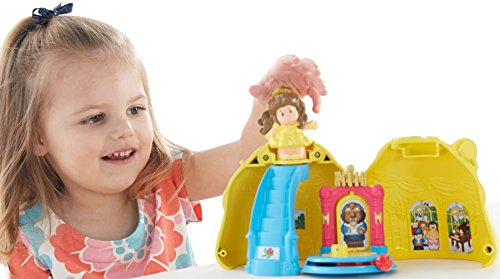 Fisher-Price Disney Princess Belle's Magical Dress by Little People (Beauty And The Beast Fisher Price compare prices)