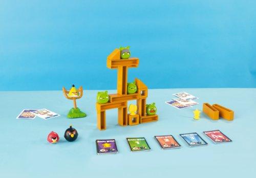 Mattel games w2793 gioco da tavola angry birds knock on wood - Angry birds gioco da tavolo istruzioni ...
