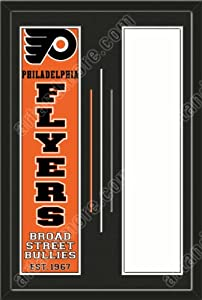 Philadelphia Flyers & Your Choice of other Team Heritage Banner Framed-House... by Art and More, Davenport, IA