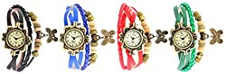 KITCONE Combo Analog Beige Dial womens watches(Bf-10)