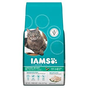 IAMS PROACTIVE HEALTH Adult Indoor Weight and Hairball Care Premium Cat Food