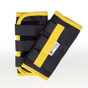La forme physique équine 2 paires de x restent les bottes froides - jaune