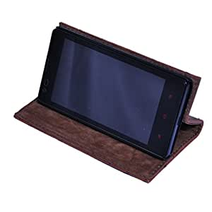 DING DONG PU Leather Flip Cover For Sony Experia T2 Ultra
