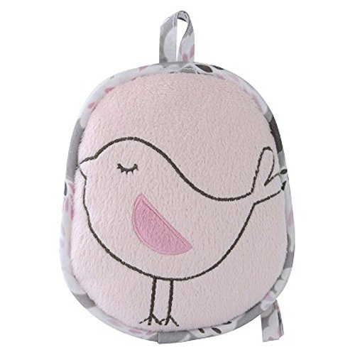 Eddie Bauer Portable Soother. Infant Pink Bird Soother. Calm Baby - 1