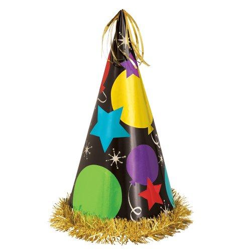13-Jumbo-Black-Balloon-Party-Hat