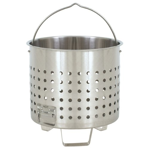 Bayou Classic 102 Qt Stainless Steel Steam Basket