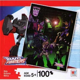 Transformers Animated 100 Piece Puzzle
