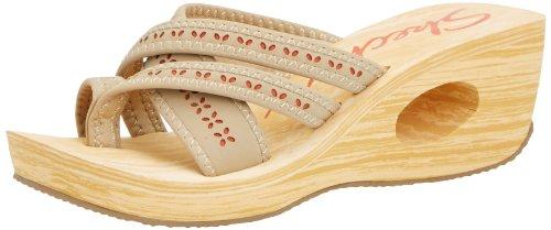 Skechers Women'S Key Holes Unlock,Natural,Us 8 M front-858831