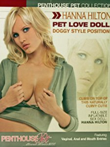 Penthouse Pet Collection Hanna Hilton Pet Love Doll, Doggy Style Position
