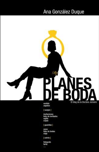 Portada del libro Planes de boda de Ana González Duque