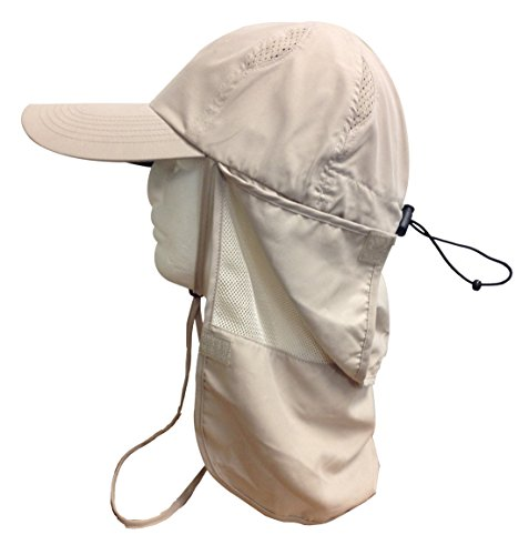 Glacier Glove Black Rock Sun Hat with Vented Shade, Khaki, One Size (Vented Fishing Hat compare prices)