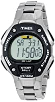 Timex Men's T5H971 Ironman Traditional 30-Lap Stainless Steel Bracelet Watch by Timex