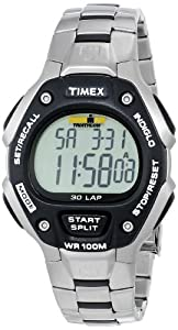 Timex® Men's IRONMAN® 30-Lap Stainless Steel & Resin Sports Watch #T5H971