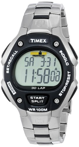 Timex Timex Men's T5H971 Ironman Traditional 30-Lap Stainless Steel Bracelet Watch