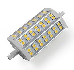 led lampen test mengs r7s j118 118mm 10w led flutlicht birne 42x 5050 smd leds led. Black Bedroom Furniture Sets. Home Design Ideas