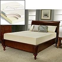 "Big Sale Sleep Science 10"" Cal King Memory Foam Mattress"