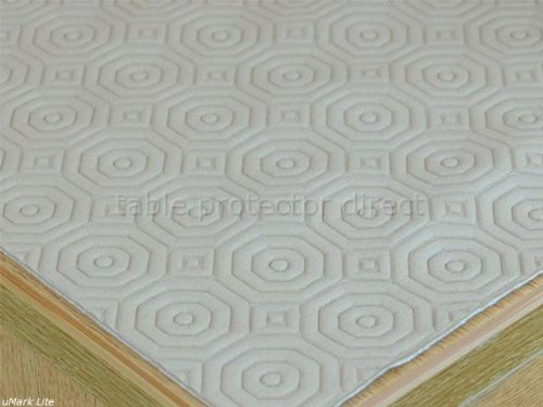 Embossed Waterproof And Heat Absorbent Table Top Protector/Cover 200x140 cm (79x54 inches)