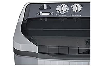 LG P8539R3SA Semi-automatic Top-loading Washing Machine (7.5 Kg, Dark Grey)