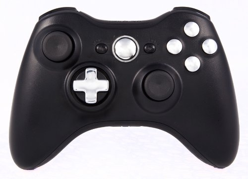 Gm Master Mod: Quickscope, Drop Shot, Auto-Aim, Jitter, Fast Reload, Jumpshot, Gow Perfect Active Reload + More Xbox 360 Modded Controller Cod Ghost, Black Ops 2, Rapid Fire (Black/Chrome Transforming Dpad)