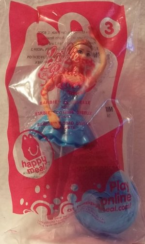 Mcdonald's Barbie Ballerina Giselle #3 Happy Meal Toy 2013 - 1