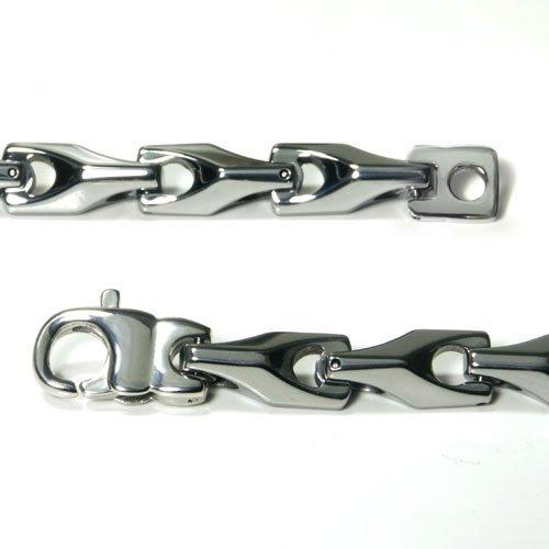tungsten carbide s wheat link necklace chain