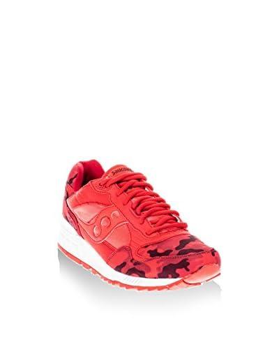 Saucony Originals Sneaker Shadow 5000 Camo [Rosso]