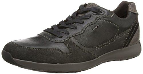 Geox U Jepson E, Sneaker, Uomo, Nero (Black), 41