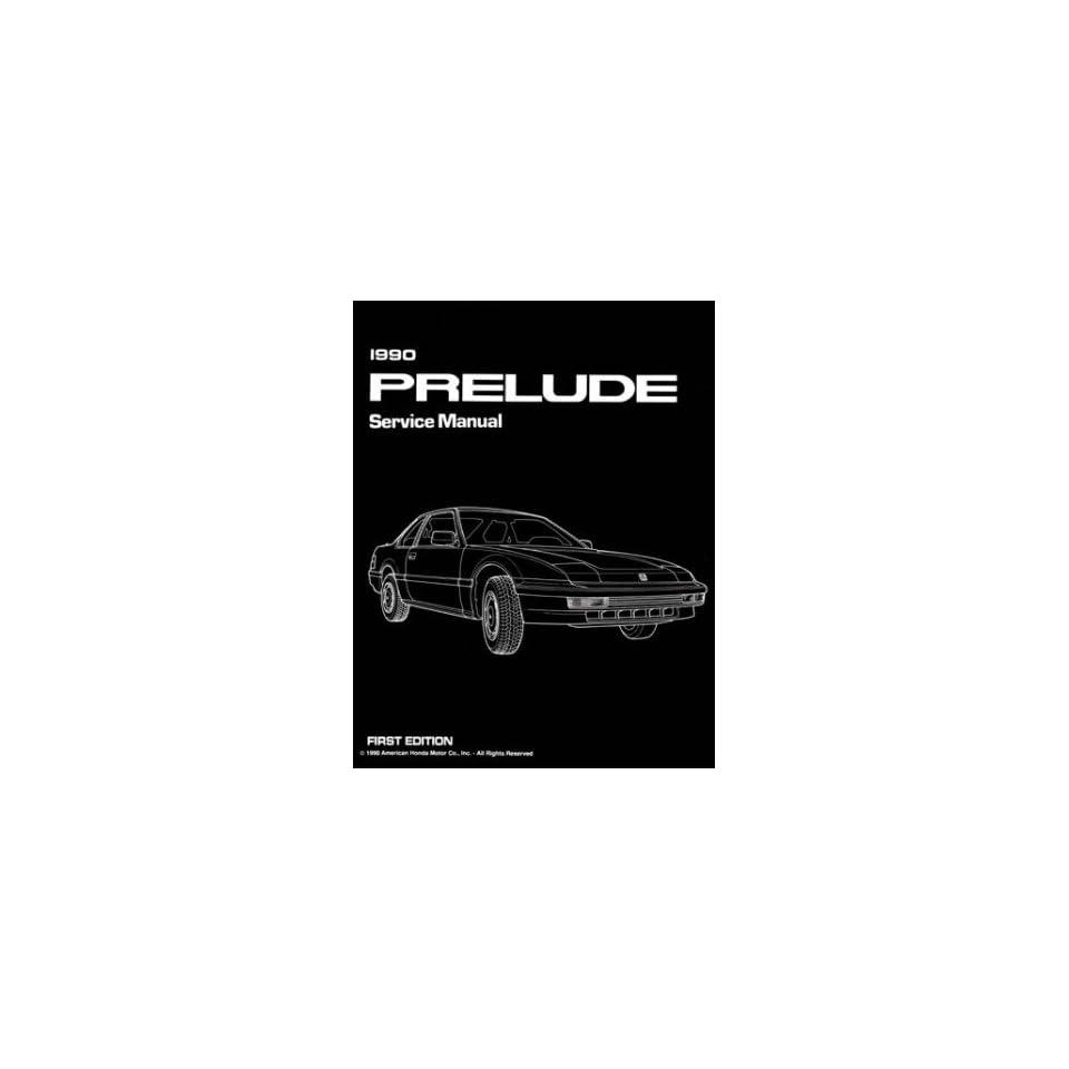 1990 HONDA PRELUDE Shop Service Repair Manual Book