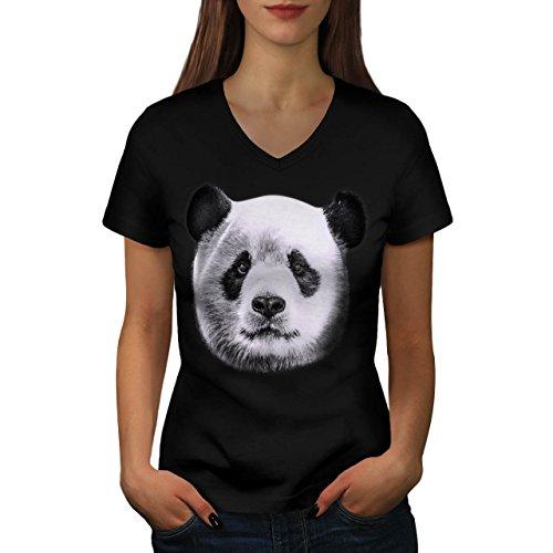 fissure-bois-panda-bois-style-femme-nouveau-noir-xl-t-shirt-wellcoda