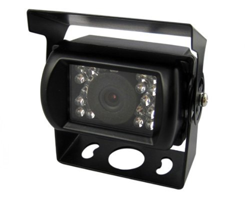 Generic Rear View Backup Reversing HD Camera for Car Truck Lorry Pickup Bus Vehicle Caravans- Waterproof, Night Vision DC 12V - 24V