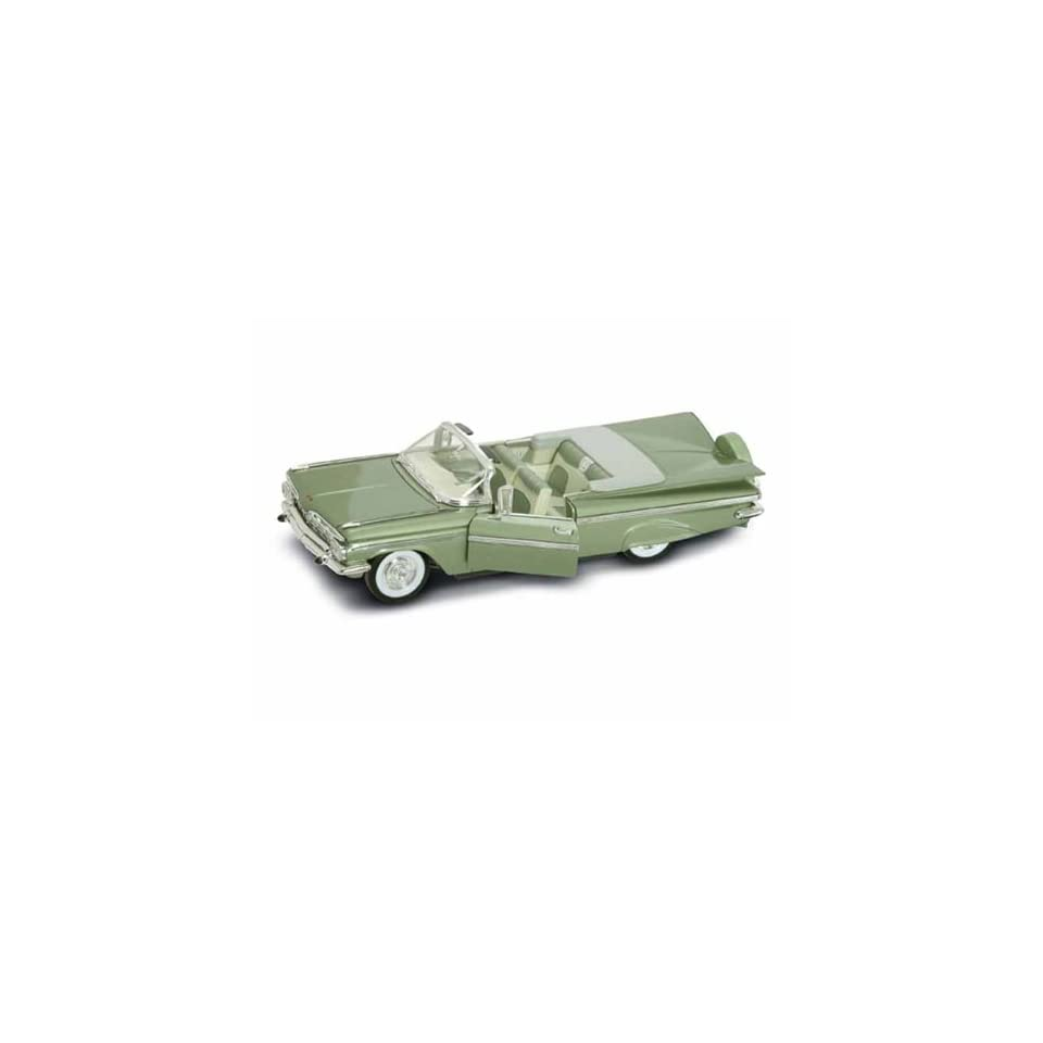 1959 Chevy Impala Convertible 1/18 Green